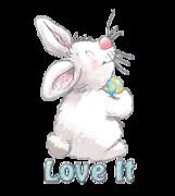 Love It - HippityHoppityBunny