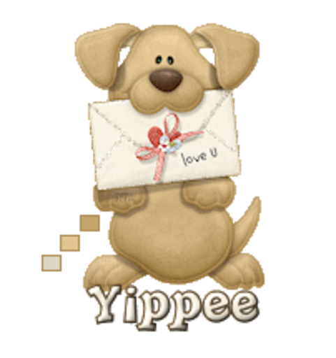 Yippee - PuppyLoveULetter