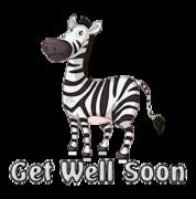 Get Well Soon - DancingZebra