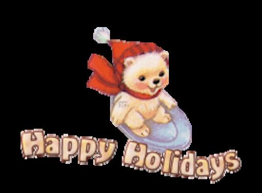 Happy Holidays - WinterSlides