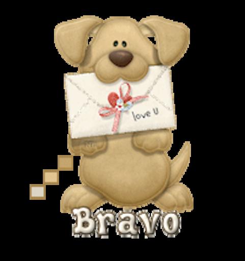 Bravo - PuppyLoveULetter