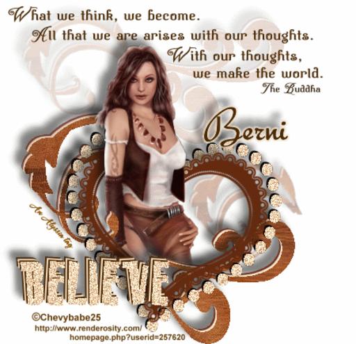 Berni Believe Chevyb Alyssia