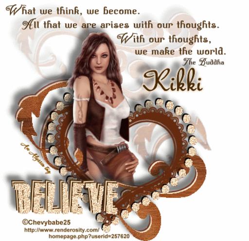 Kikki Believe Chevyb Alyssia