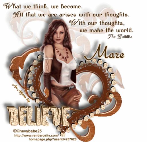 Mare Believe Chevyb Alyssia