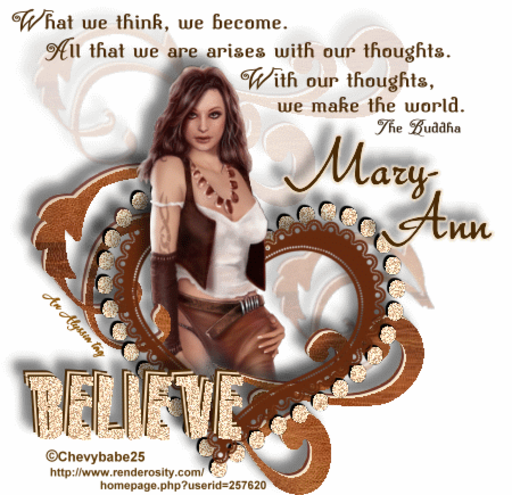 Mary-Ann Believe Chevyb Alyssia