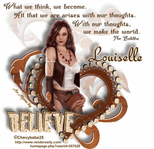 Louiselle Believe Chevyb Alyssia