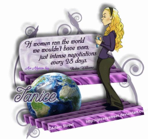 Janice Negotiate AdamSt Alyssia