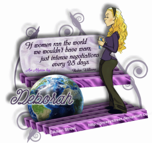 Deborah Negotiate AdamSt Alyssia
