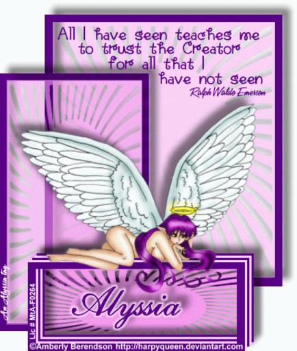 Alyssia AllSeen AmberlyB Alyssia