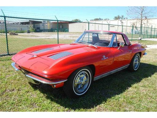 1963 Chevrolet Corvette Fuelie Convertible