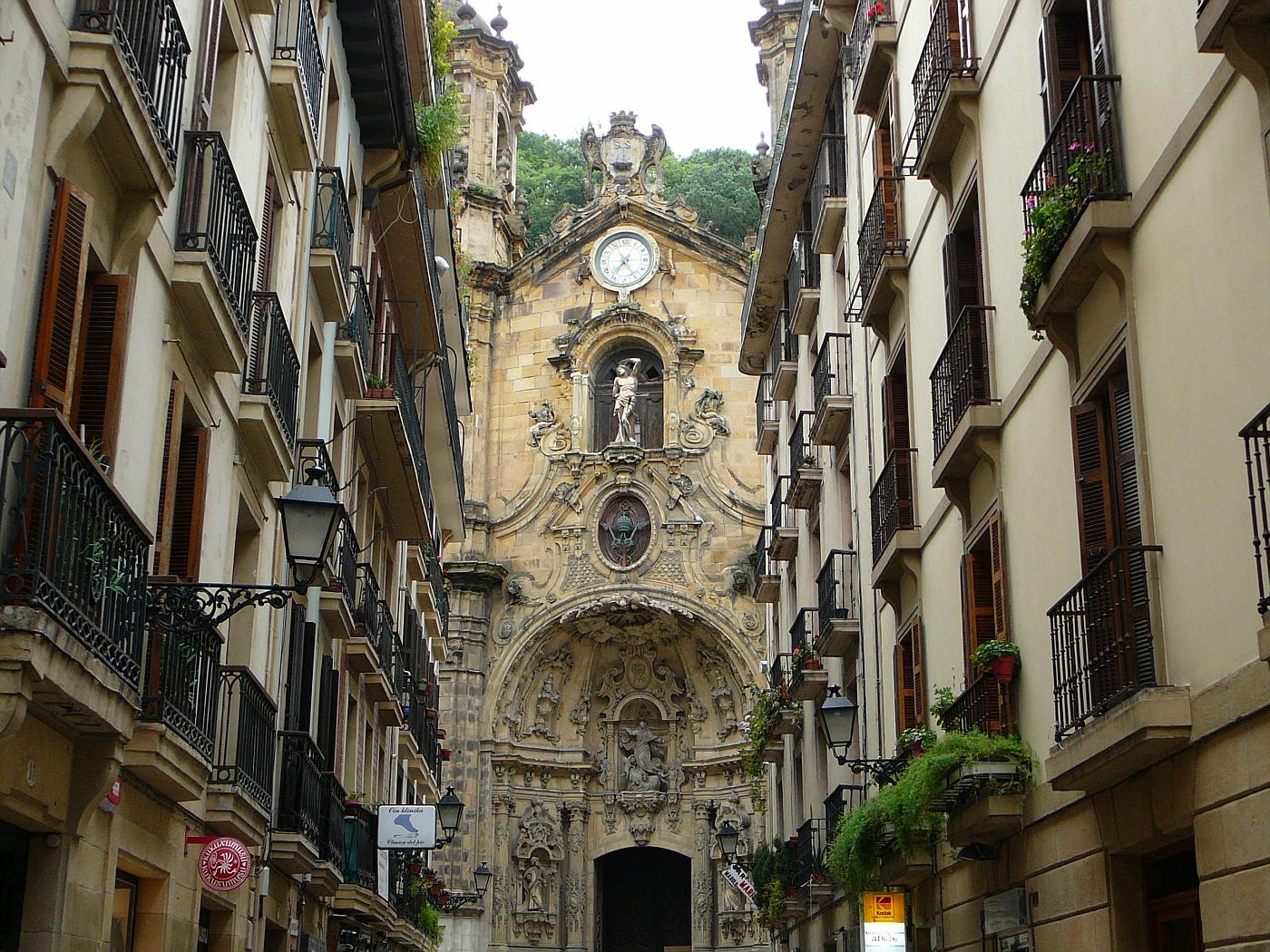 Old Church San Sabastian