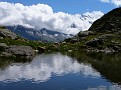 Mont Blanc Range in the Reflection