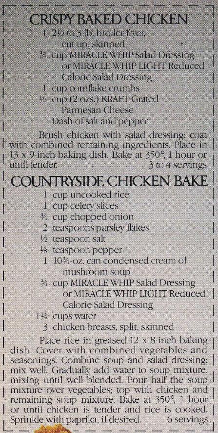 crispy baked