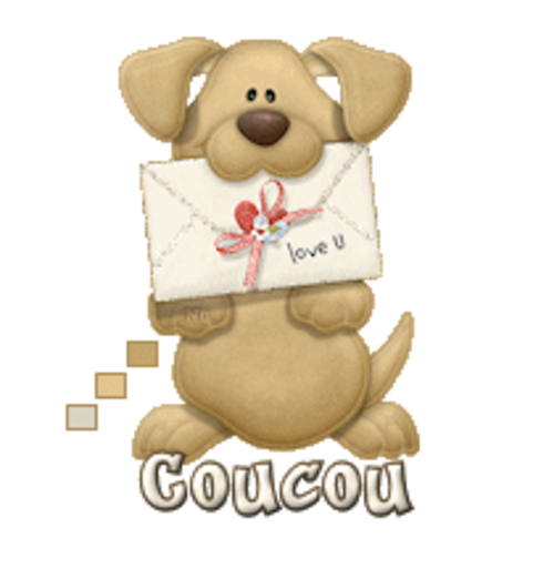 Coucou - PuppyLoveULetter
