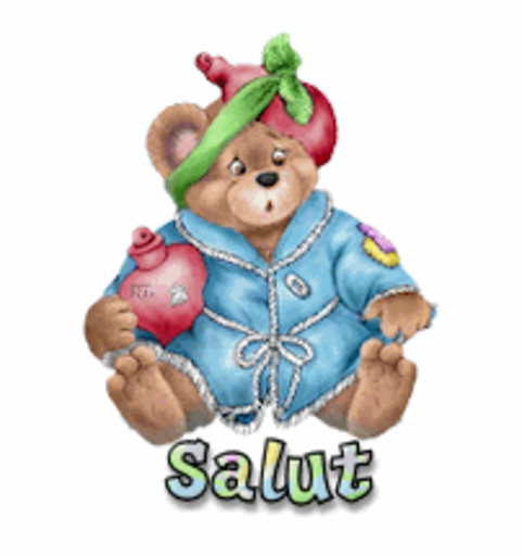 Salut - BearGetWellSoon