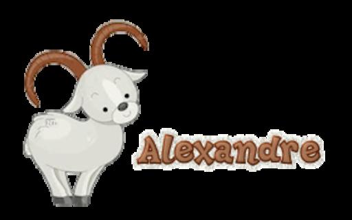 Alexandre - BighornSheep