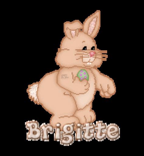 Brigitte - BunnyWithEgg