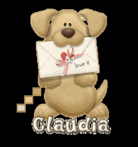 Claudia - PuppyLoveULetter