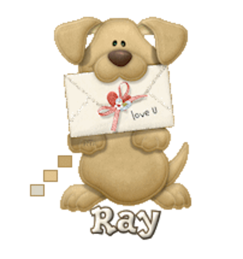 Ray - PuppyLoveULetter