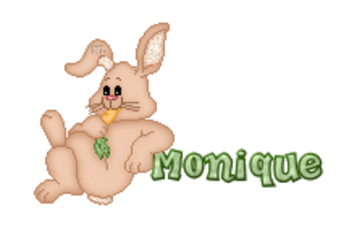 Monique - BunnyWithCarrot