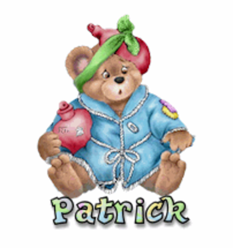 Patrick - BearGetWellSoon