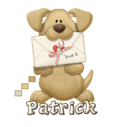 Patrick - PuppyLoveULetter