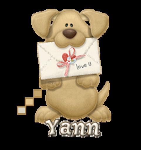 Yann - PuppyLoveULetter