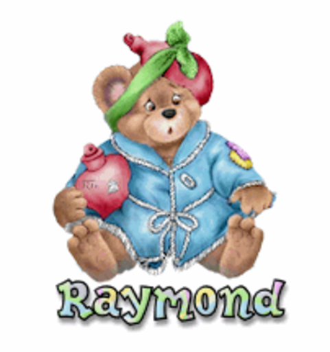 Raymond - BearGetWellSoon