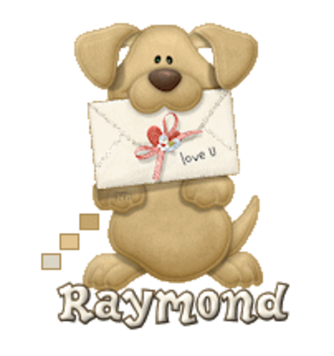 Raymond - PuppyLoveULetter