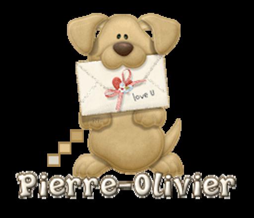 Pierre-Olivier - PuppyLoveULetter