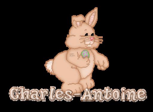 Charles-Antoine - BunnyWithEgg