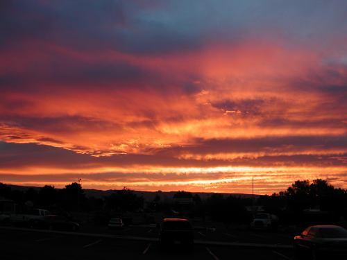 Page sunset