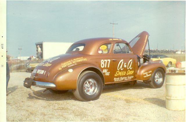 Photo: Joe Amato 'A&A speed shop' '40 Chevy Gasser #2 | 37-41 Chevy