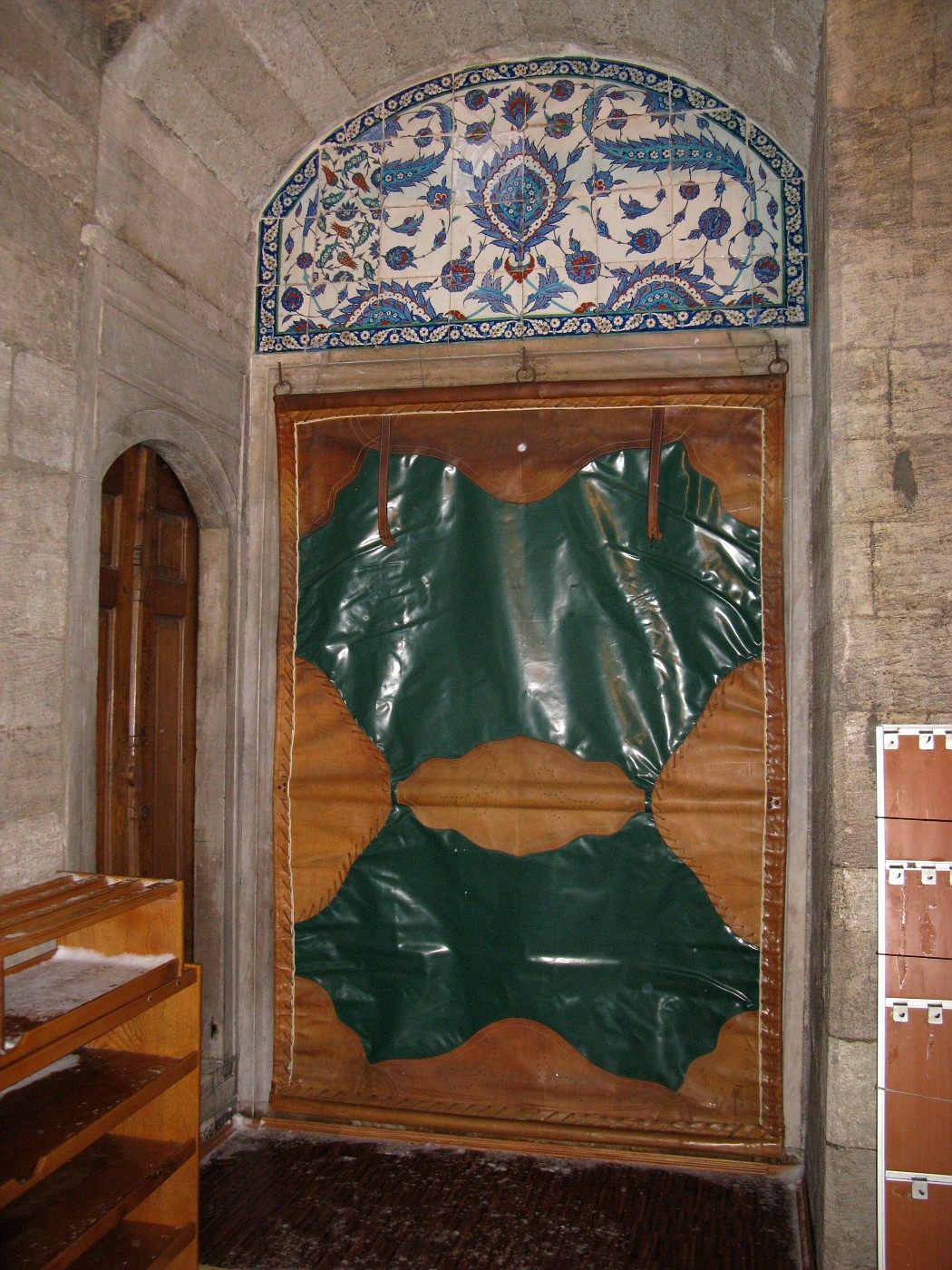 Entrance to the Inside of Rüstem Pasha Mosque
