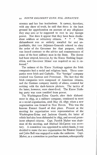 HISTORY OF THE NINTH REGIMENT - PAGE 022