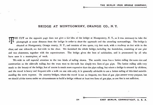 BERLIN IRON BRIDGE CO  - PAGE 024