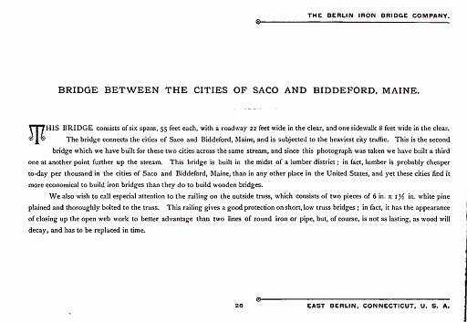 BERLIN IRON BRIDGE CO  - PAGE 026