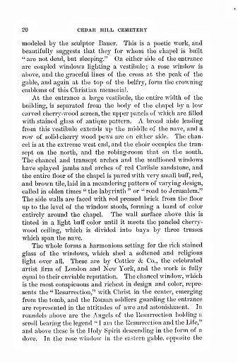 CEDAR HILL CEMETERY - PAGE 20