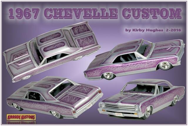 67 Chevelle collage