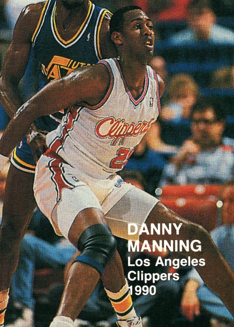 1990 NBA Superstars (blue back) Danny Manning (1)