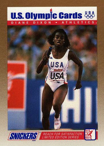 1992 Snickers US Olympic Cards #05 (1)