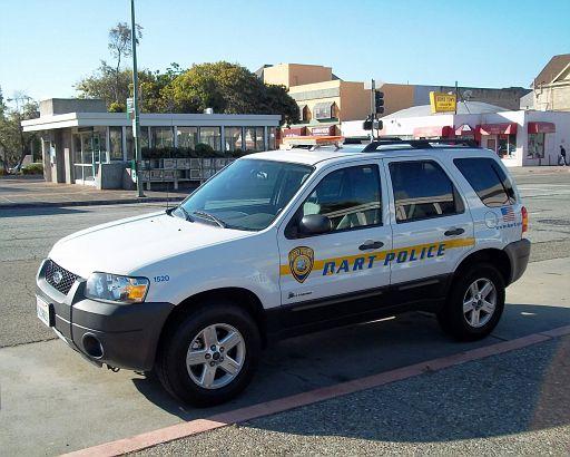CA - BART Police Ford Escape