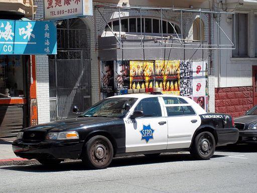 CA - San Francisco Police Ford