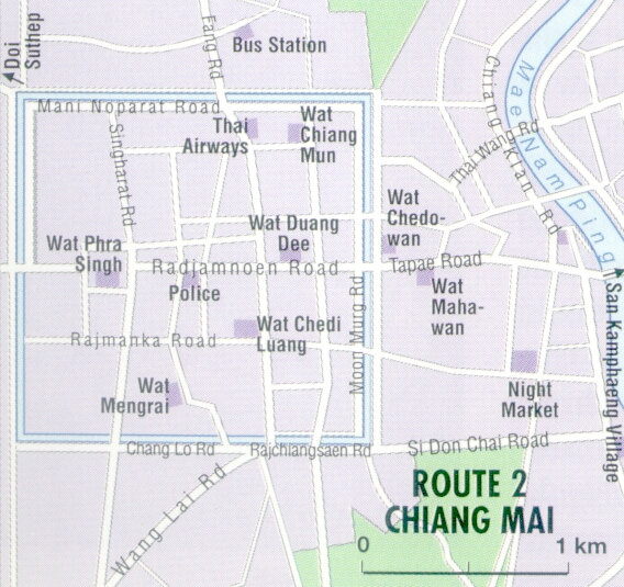 Insight Compact Guide Thailand  Route 2 Chiang Mai