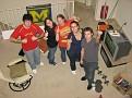 Zack, Alaina, Laura, Vicki and Aaron