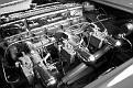 10 1954 Chevrolet Corvette engine compartment detail view 1