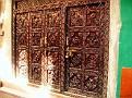 Beautiful carved door...