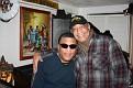 Super Bowl party chez Mireille et Fanfan. Pedro et Claude.