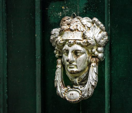 Decorative knocker