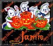 3 Ghosts & pumpkinJamie